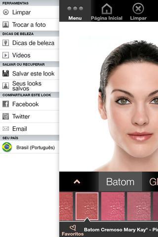 Maquiagem Virtual Mary Kay® - Imagem 2 do software