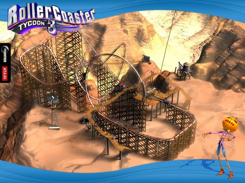 RollerCoaster Tycoon 3 - Imagem 1 do software