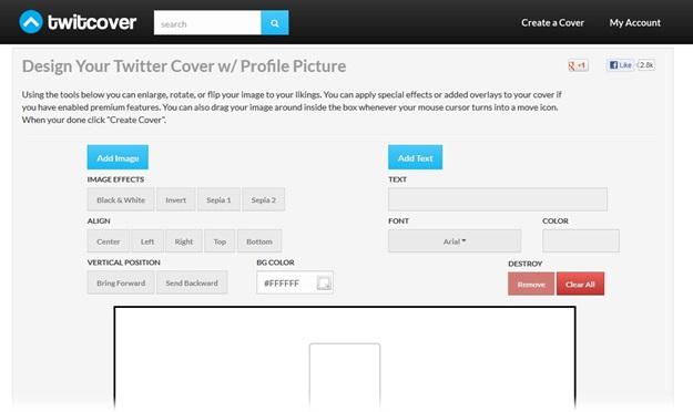 TwitCover - Imagem 1 do software