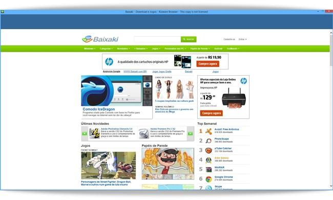 KioWare Browser - Imagem 1 do software