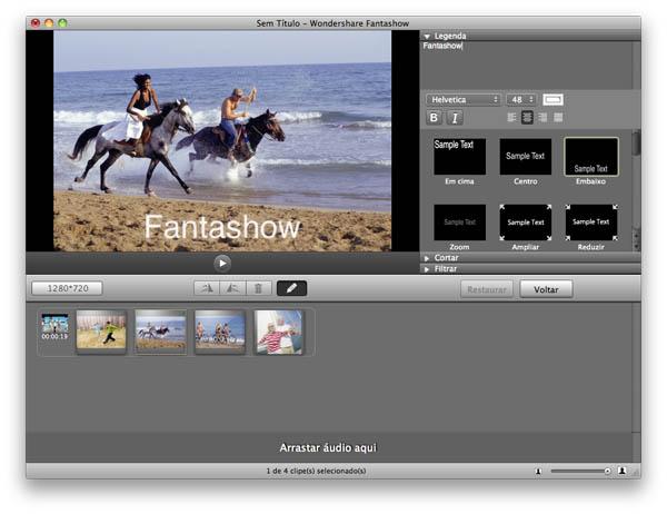 Wondershare Fantashow - Imagem 1 do software