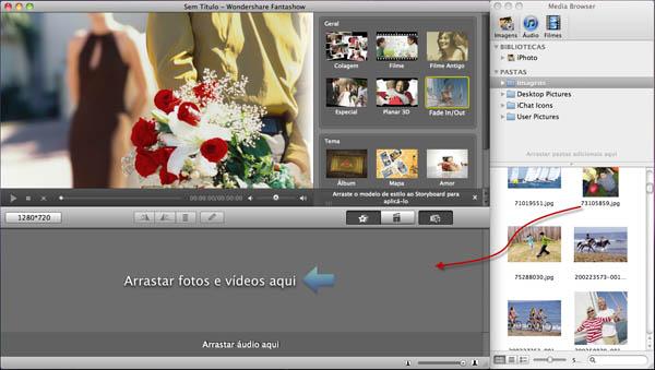 Wondershare Fantashow - Imagem 2 do software