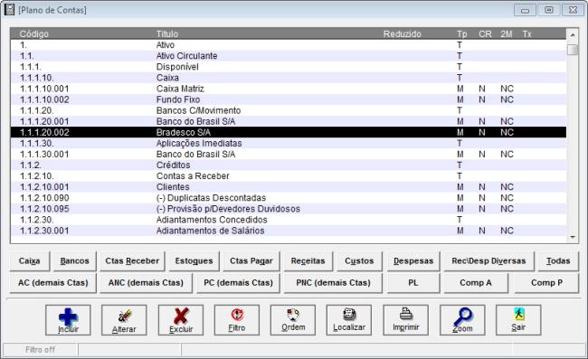 RXPCont - Imagem 1 do software