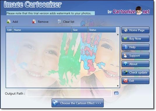 Image Cartoonizer - Imagem 1 do software