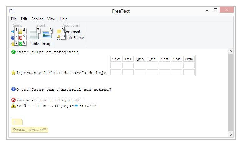 FreeText - Imagem 1 do software