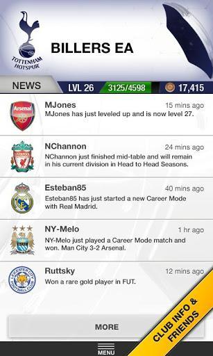EA Sports Football Club - Imagem 2 do software
