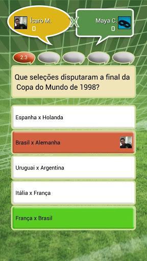 Futebol Quiz - Imagem 2 do software