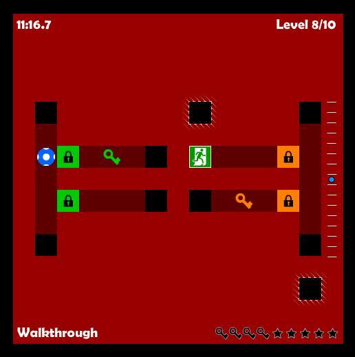 Labirintos divididos em camadas
