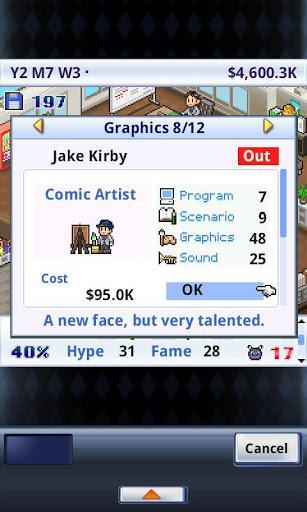 Game Dev Story Lite - Imagem 2 do software