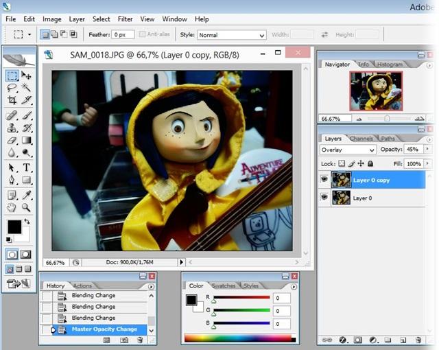 Adobe Photoshop CS2.
