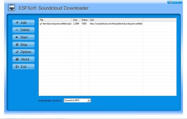 Soundcloud Downloader.