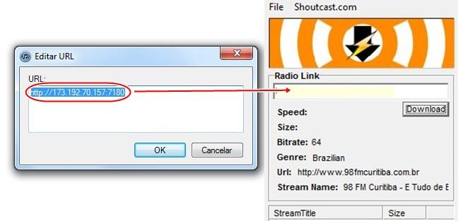 ESFSoft Radio Downloader - Imagem 4 do software