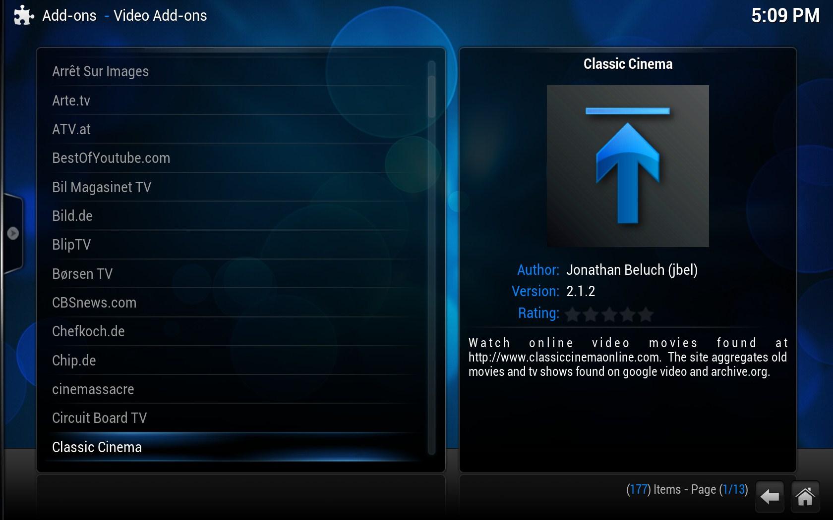 XBMC Media Center - Imagem 1 do software