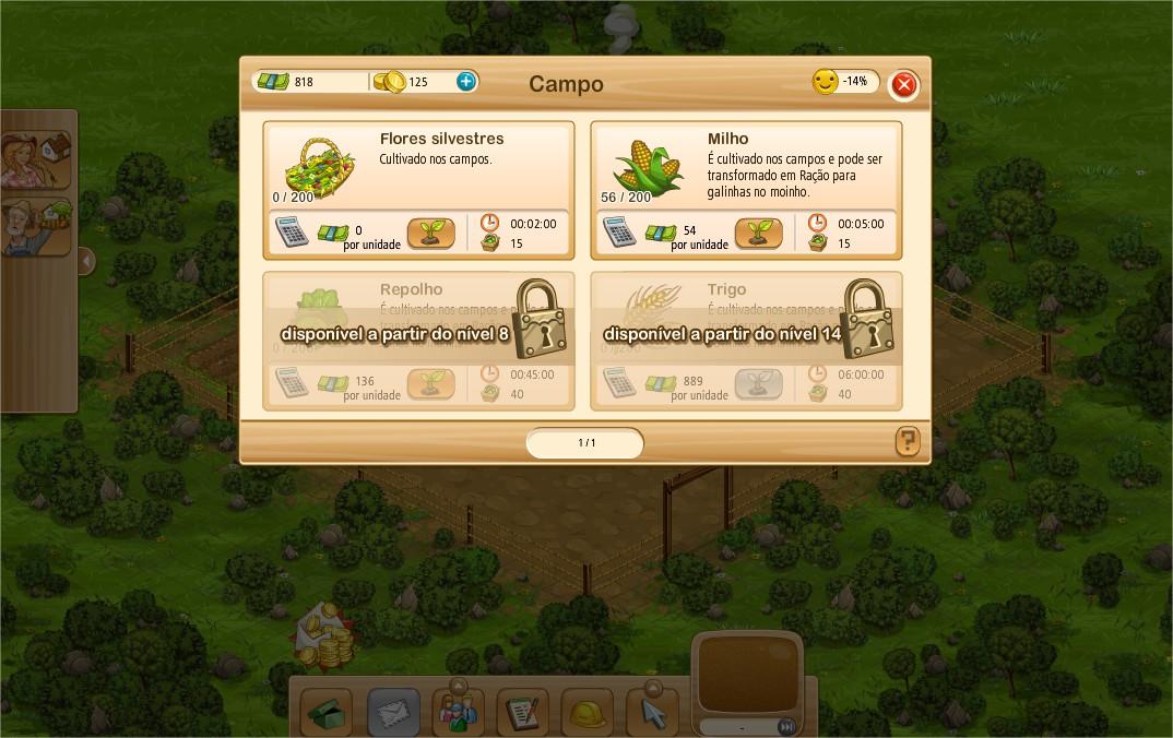 Visual do game