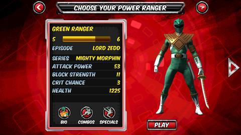 Power Rangers Legends - Imagem 3 do software
