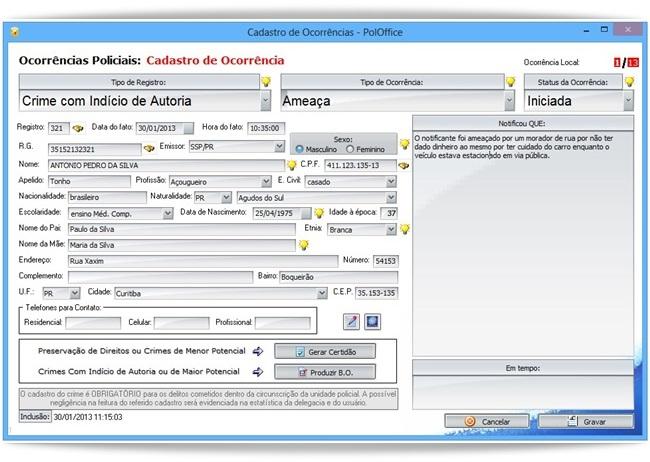 PolOffice - Imagem 2 do software
