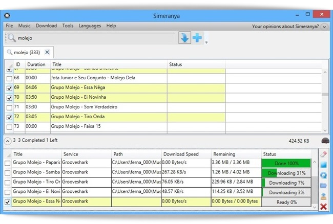 Simeranya - Imagem 1 do software