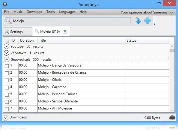 Simeranya - Imagem 2 do software