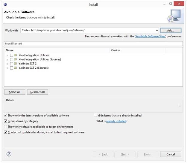 YAKINDU Statechart Tools - Imagem 2 do software