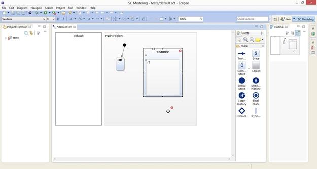 YAKINDU Statechart Tools - Imagem 1 do software