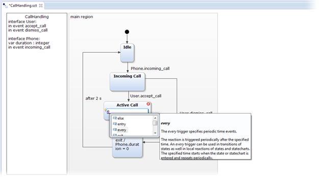 YAKINDU Statechart Tools - Imagem 3 do software