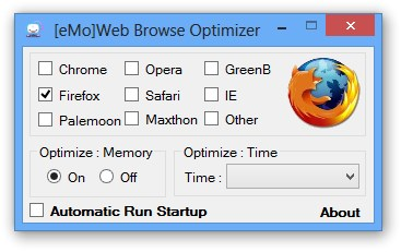 [eMo]Web Browse Optimizer interface2