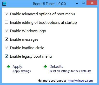 Boot UI Tuner - Imagem 1 do software