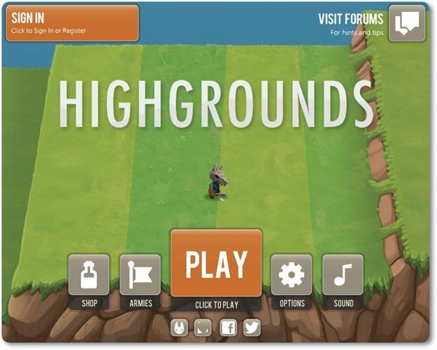 Highgrounds - Imagem 1 do software