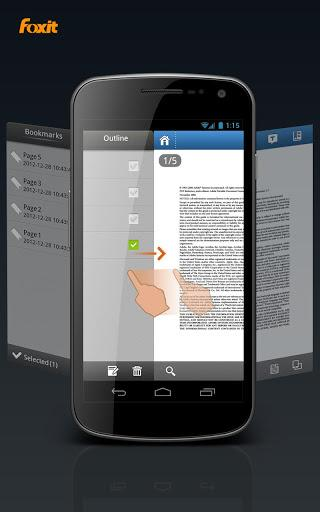 Foxit Mobile PDF Lite - Imagem 1 do software