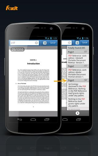 Foxit Mobile PDF Lite - Imagem 2 do software