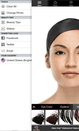 Maquiagem Virtual Mary Kay - Imagem 2 do software