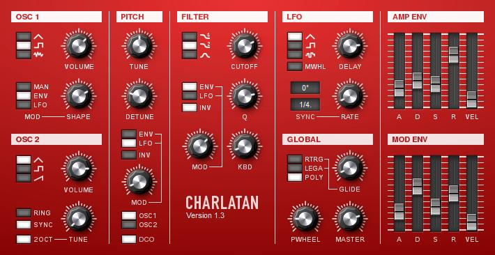 Charlatan - Imagem 1 do software