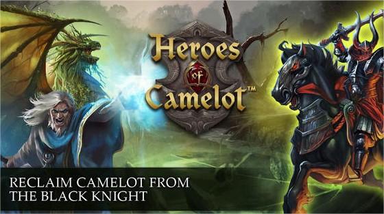 Kabam lança Heroes of Camelot para iOS
