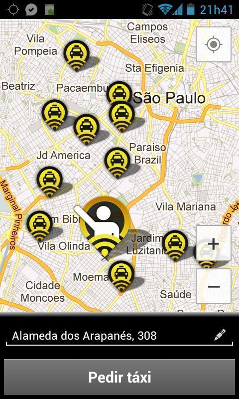 99Taxis - Táxi pelo Celular - Imagem 2 do software