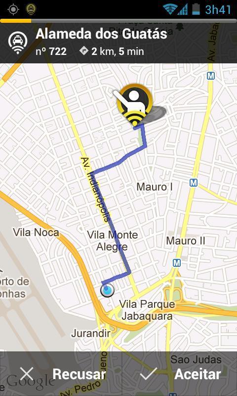 99Taxis - Táxi pelo Celular - Imagem 3 do software