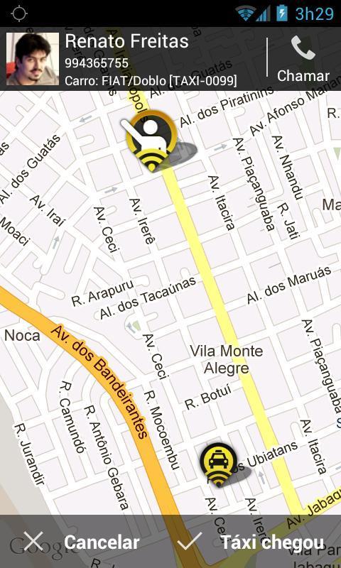 99Taxis - Táxi pelo Celular - Imagem 4 do software