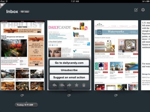 Birdseye Mail - Email for the iPad - Imagem 1 do software