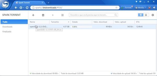 Spark Browser Versão: 26 4 9999 1836 (atualizado) - Meus
