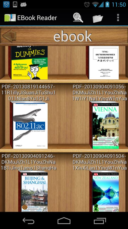 EBook Reader & PDF Reader - Imagem 1 do software