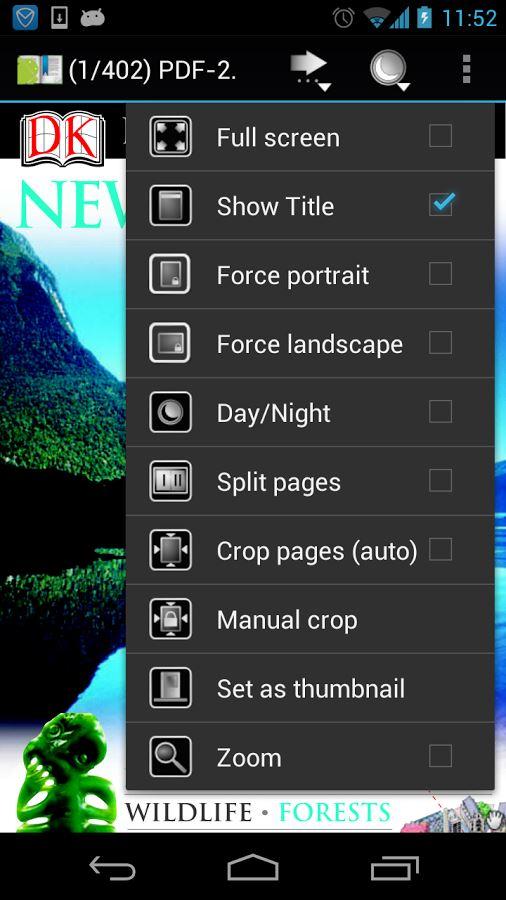EBook Reader & PDF Reader - Imagem 2 do software