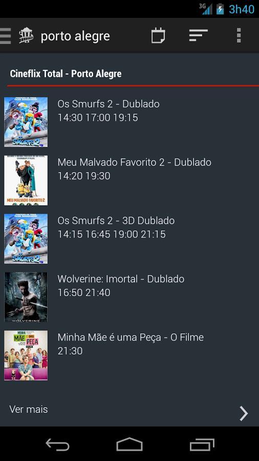 Movie Showtime - Imagem 1 do software