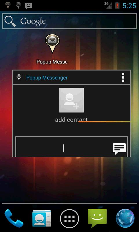 Popup Messenger - Imagem 2 do software