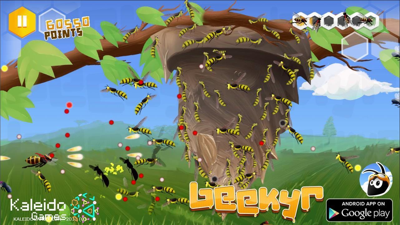 Beekyr FREE: Eco Shmup Danmaku - Imagem 1 do software
