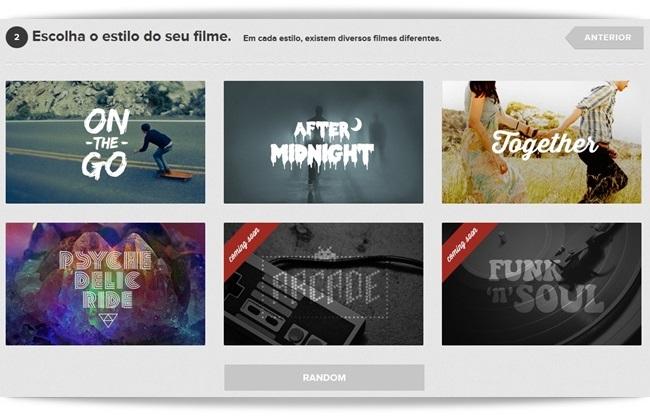 Stayfilm - Imagem 3 do software