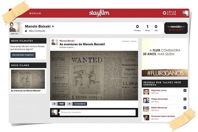 Stayfilm - Imagem 4 do software