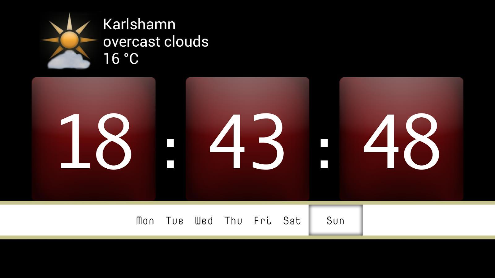 Digit Alarm Clock (ad free) - Imagem 1 do software