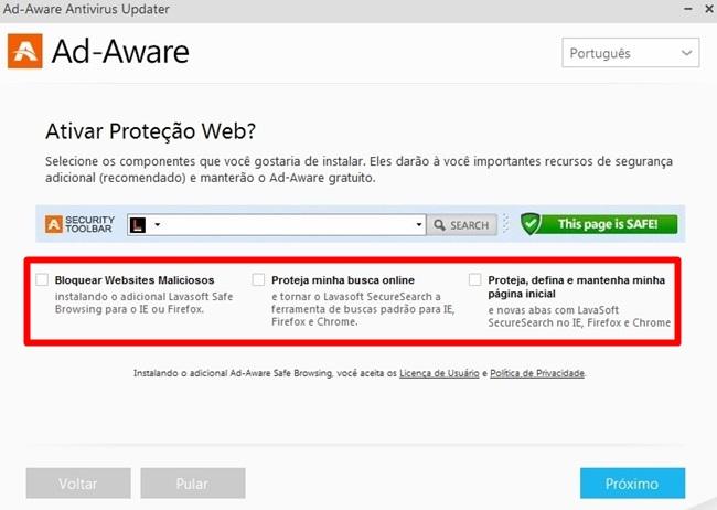 Ad-Aware Free Antivirus+ - Imagem 2 do software