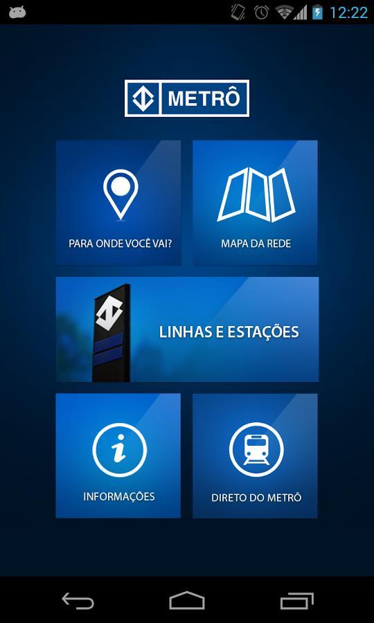 Metrô de São Paulo Oficial - Imagem 1 do software