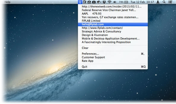 CopyClip - Imagem 1 do software