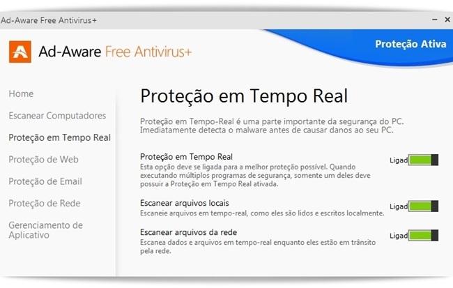 Ad-Aware Free Antivirus+ - Imagem 4 do software
